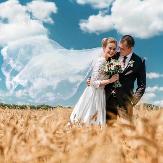 Hochzeitsfoto und Hochzeitsvideo